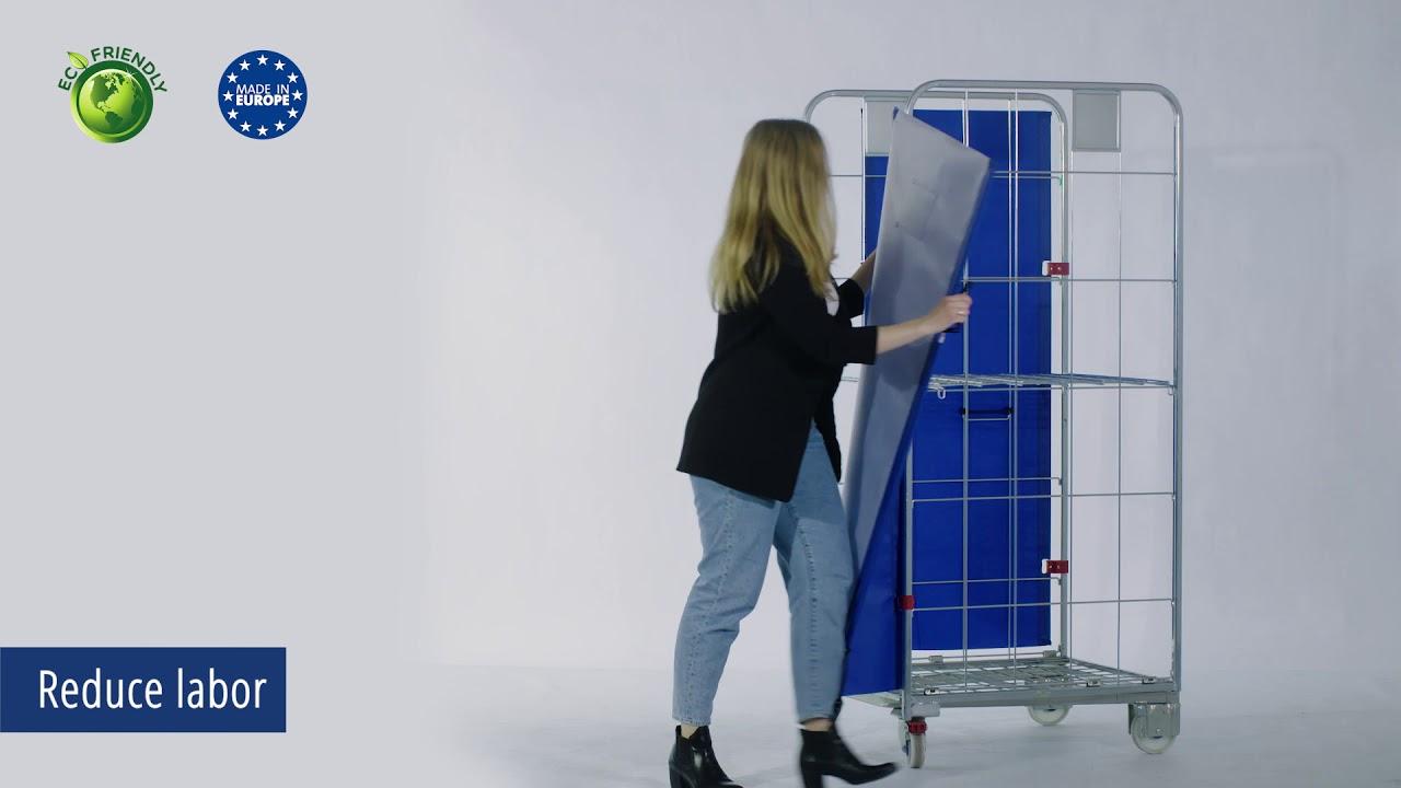 Video Standardní textilní dveře