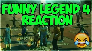 LEGEND 4 REACTION!! NBA 2K16 MYPARK