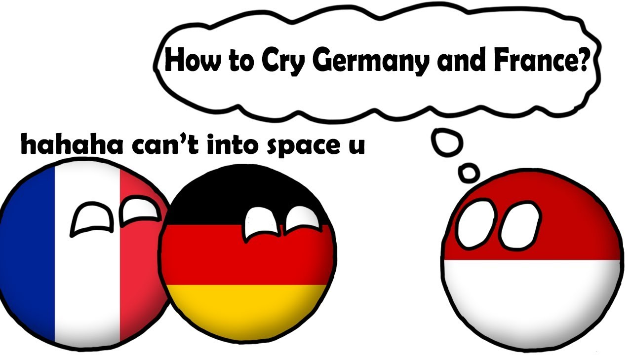 How To Cry Germany And France Countryballs Animation Youtube