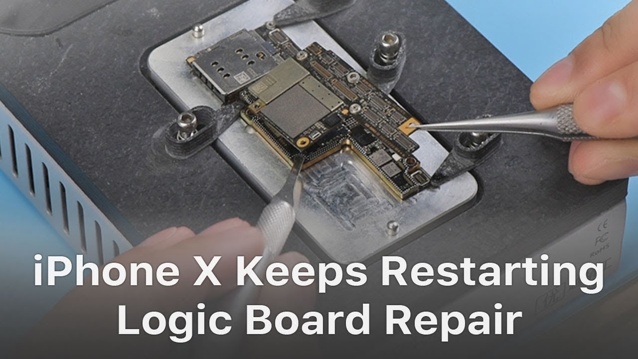 half off 0a2d7 43673 How To Fix iPhone X Keeps Restarting Logic Board Repair