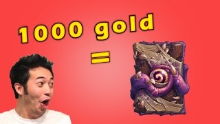 Best Way to Spend 1000 Gold in Hearthstone