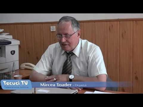 """""""Interviul de 5 minute"""" cu deputatul Mircea Toader"""