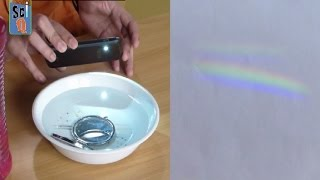Learn How to Make a Rainbow at Home - Kids Science Experiments