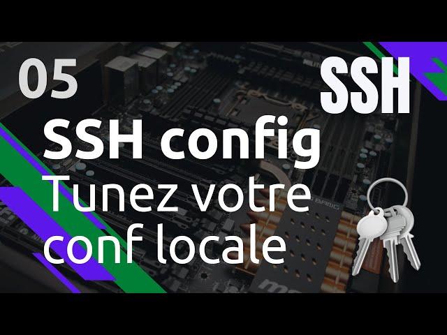 SSH - 5. LE FICHIER SSH CONFIG