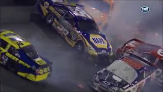 All NASCAR Crashes From the 2012 Budweiser Shootout