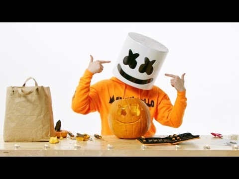 How To: Carve A Marshmello Pumpkin For Halloween