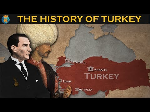 THE HISTORY OF TURKEY in 10 minutes