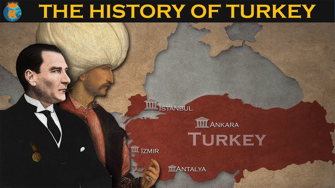 THE HISTORY OF TURKEY in 10 minutes - YouTube