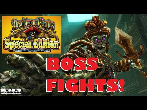 Namco DeadStorm Pirates Special Edition Boss Fights! Arcade Shooter!
