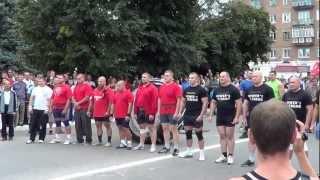 Шостка vs. Железногорск (богатырские игры) 2012