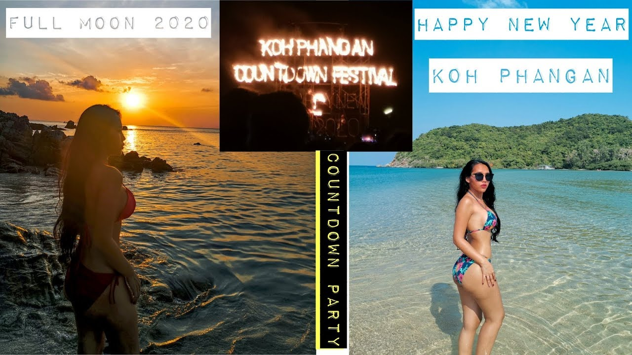The Best Full Moon Party and Countdown 2020 Koh Phangan Ep.3