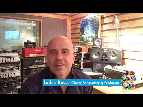 """Lothar Kosse ist Botschafter unserer Aktion """"Deutschland singt"""""""
