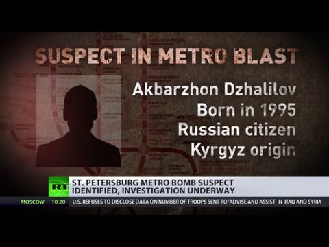 St. Petersburg Metro bomber identified as Kyrgyz-born Russian citizen