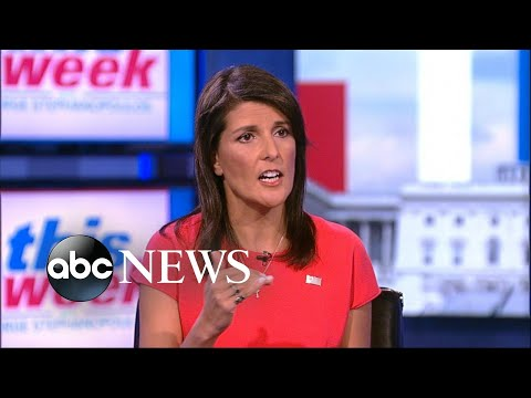 Nikki Haley says Trump, Tillerson 'work very well together'