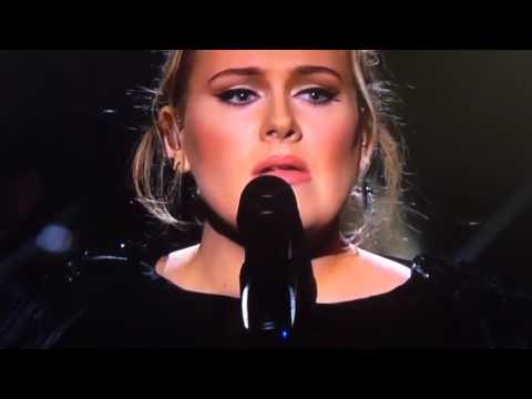 Adele Honoring George Michael with  FastLove  59th Grammys 2017 1080p HD