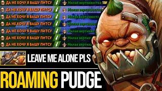 Roaming Pudge!!! NONSTOP GANK - Easy Delete Techies   Pudge Official