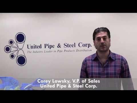 United Pipe & Steel Corp. Testimonial