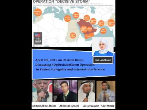 Discussing Operation Decisive Storm in Yemen April 7, 2015