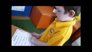 A Preppie Demonstrates 'Code Mapping' in an SSP Prep Classroom