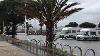 Club Motorhome Aire Videos - Hondarribia Beach, Basque Country, Spain