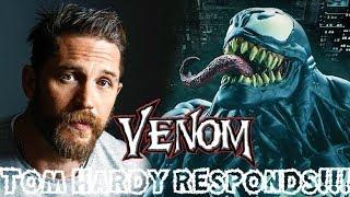 Tom Hardy Responds to Recent Venom Movie Rumors!!!