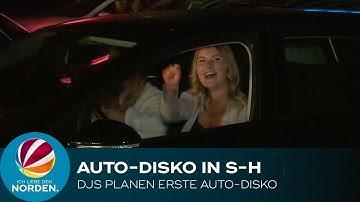 Trotz Corona: Vorbereitungen für die erste Auto-Disco in Schleswig-Holstein