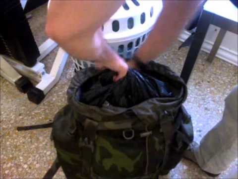 WaterProof Your BackPack - YouTube