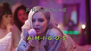 Marshmello & Anne-Marie - FRIENDS (Lyrics English Spanish - Letra Inglés Español)