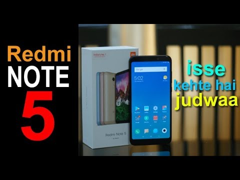 Redmi Note 5 review - 18:9 screen and 2 days battery life