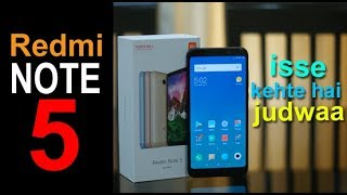 Redmi Note 5 Review (Hindi) - ise kehte hai judwa! Price Rs. 9,999