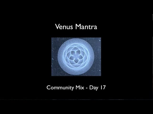 Venus Mantra Update