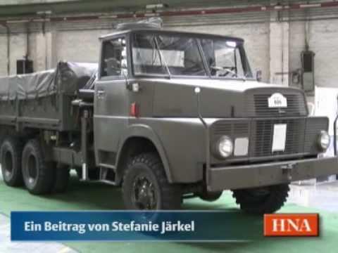 Henschel-Lastwagen der Schweizer Armee