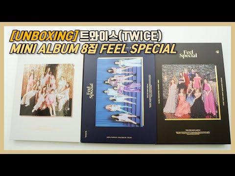 [UNBOXING] 트와이스(TWICE) MINI ALBUM 8집 FEEL SPECIAL