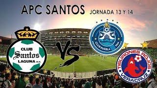 Gambar cover LIGA APC | JORNADA 13 Y 14 | ACP SANTOS | CLUBES PRO