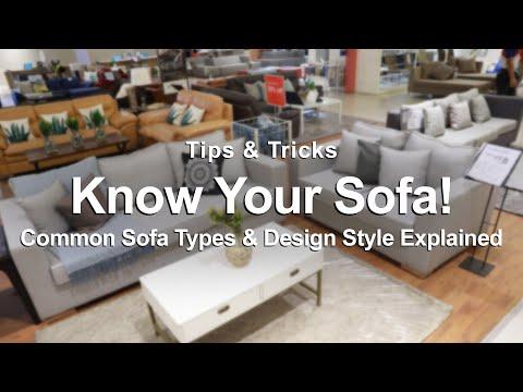 Common Sofa Types & Design Style History | MF Home TV