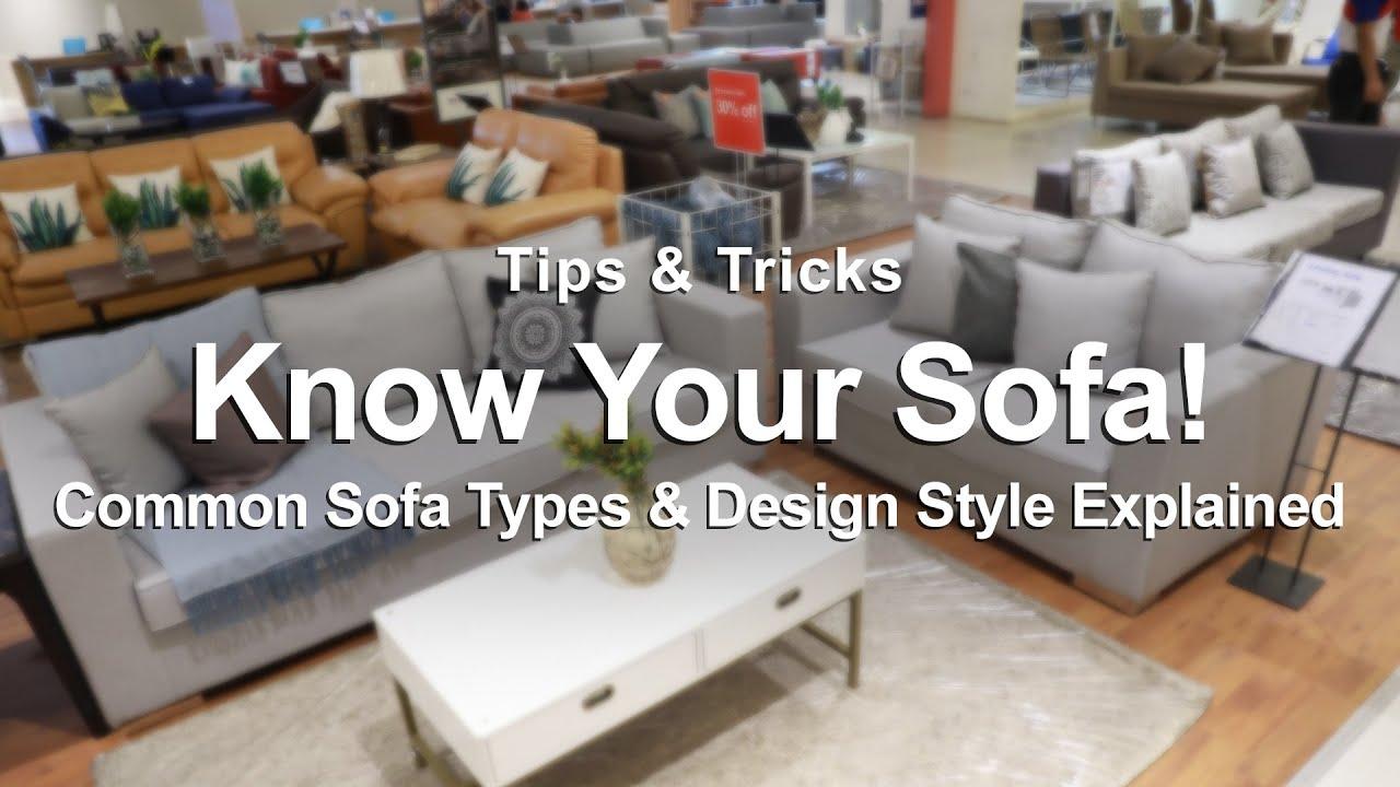 Common Sofa Types Design Style History Mf Home Tv Youtube
