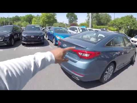 Walkaround Review of 2016 Hyundai Sonata 7708PT