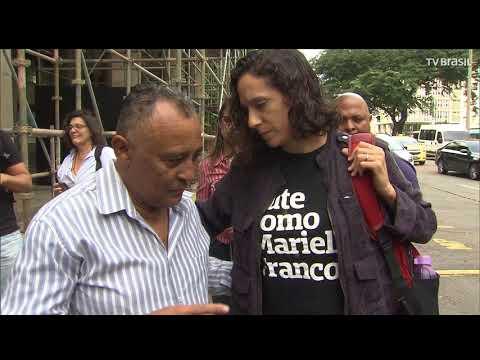 Ato marca três meses das mortes de Marielle Franco e Anderson Gomes