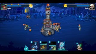 Spooky Wars (by Impossible Apps) - strategy game for android - gameplay.