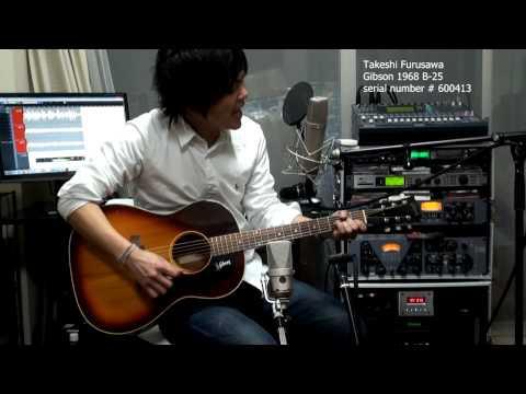From Me To You The Beatles Past Masters 古澤剛 Gibson 1968 B-25 Takeshi Furusawa