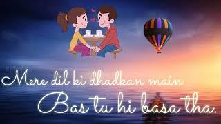 Gambar cover Tujhe dekhe bina dil❤️ ko mere chain nahi aata