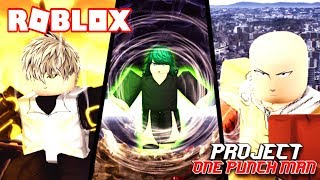 I CHANGE TO THE NEW ALIEN RACE! - ROBLOX PROJECTO OPM (ONE PUNCH MAN) in Spanish
