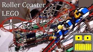 Lego Roller Coaster Lego Creator 4124 Pieces Working Set #10261 at the 2018 TTPM Spring Showcase