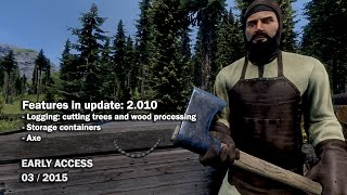Medieval Engineers - Update 2.010: Logging, Storage Containers