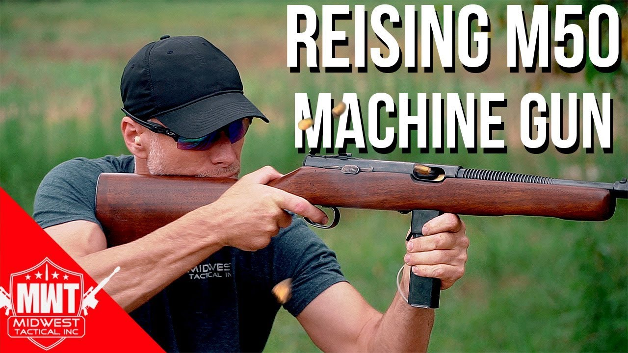 Reising M50 Review (Machine Gun, Full Auto)