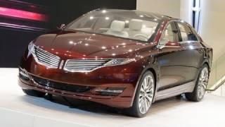 Lincoln MKZ Concept | 2012 Detroit Auto Show