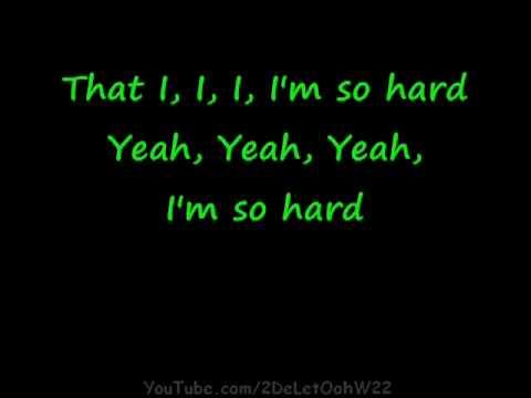 Rihanna ft  Young Jeezy   Hard + Lyrics on screen Album Rated R november 2009 + Mp3 Download