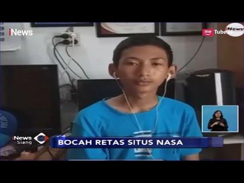 Ini Sosok Putra Aji, Bocah SMP Peretas Situs NASA Dan KPU RI - INews Siang 04/04
