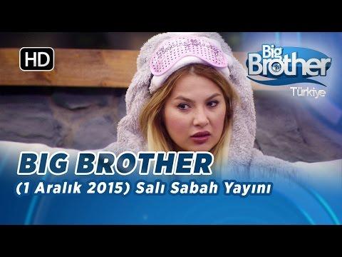 Big Brother Türkiye (1 Aralık 2015) Salı Gündüz Yayını - Bölüm 4