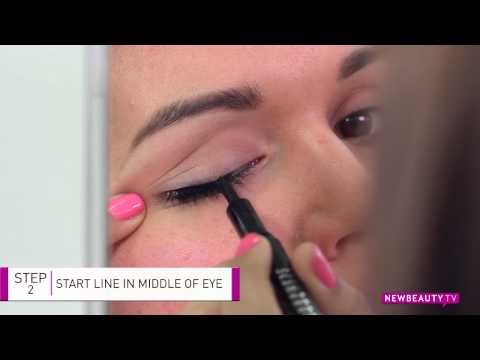 How To Apply Liquid Eyeliner In Seconds